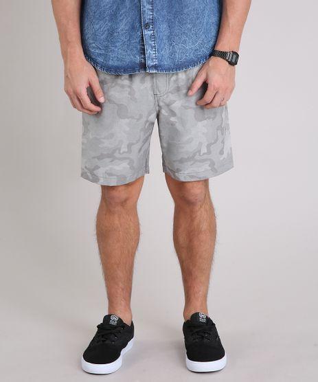 Short-Masculino-Estampado-Camuflado-com-Bolsos-Cinza-9200750-Cinza_1