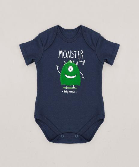 Body-Infantil--Monster--Manga-Curta-Azul-Marinho-9256088-Azul_Marinho_1