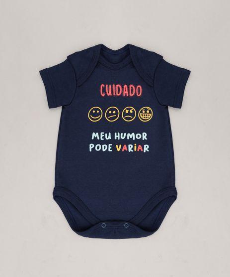 Body-Infantil--Cuidado-Meu-Humor-Pode-Variar--Manga-Curta-Azul-Marinho-9229291-Azul_Marinho_1