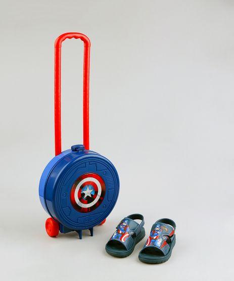Sandalia-Papete-Infantil-Grendene-Capitao-America-Vem-Com-Maleta-de-Rodinhas-Azul-Marinho-9259671-Azul_Marinho_1