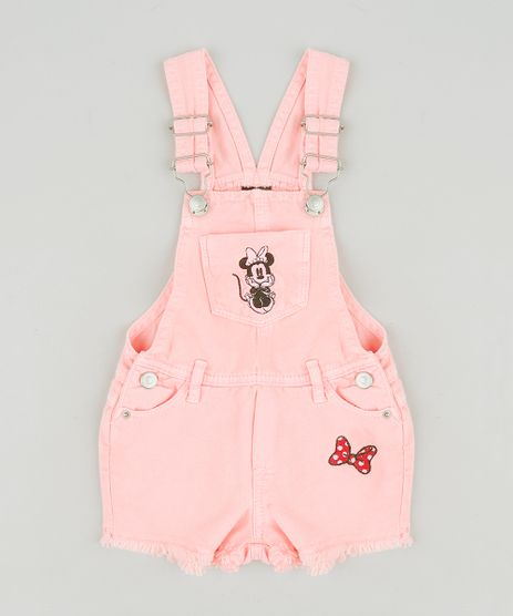 Jardineira-Color-Infantil-Minnie-com-Bordado-Rosa-Neon-9276658-Rosa_Neon_1