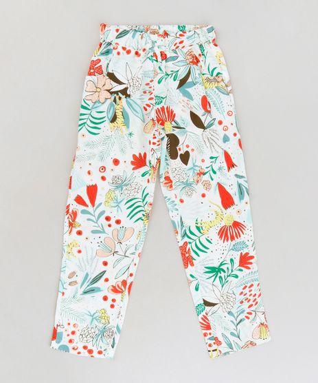 Calca-Infantil-Ampla-Estampada-Floral-com-Bolsos--Off-White-9182773-Off_White_1