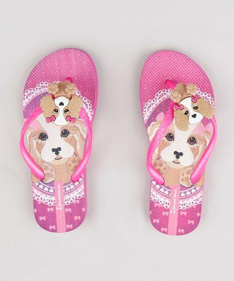 Chinelo-Infantil-Ipanema-Cachorro-Rosa-Escuro-9293286-Rosa_Escuro_1