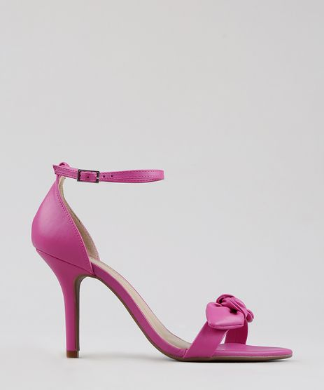 Sandalia-Feminina-Salto-Fino-com-Laco-Pink-9274927-Pink_1