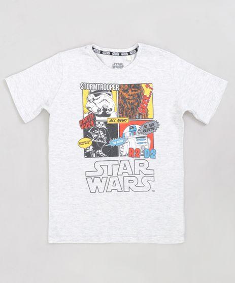 Camiseta-Infantil-Star-Wars-Manga-Curta-Gola-Careca-Cinza-Mescla-Claro-9288356-Cinza_Mescla_Claro_1