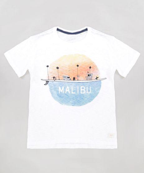 Camiseta-Infantil--Malibu--Manga-Curta-Gola-Careca-Off-White-9233439-Off_White_1