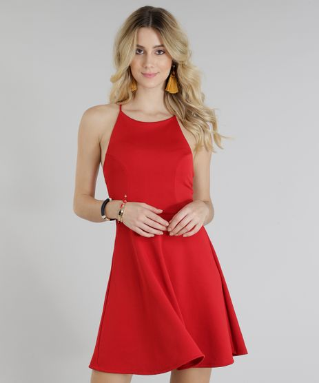 Vestido-Feminino-Evase-Curto-Halter-Neck-Alcas-Cruzadas-Vermelho-9299251-Vermelho_1