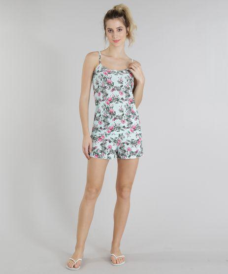 Short-Doll-Feminino-Estampado-Floral-Alcas-Finas-Verde-Claro-9218981-Verde_Claro_1