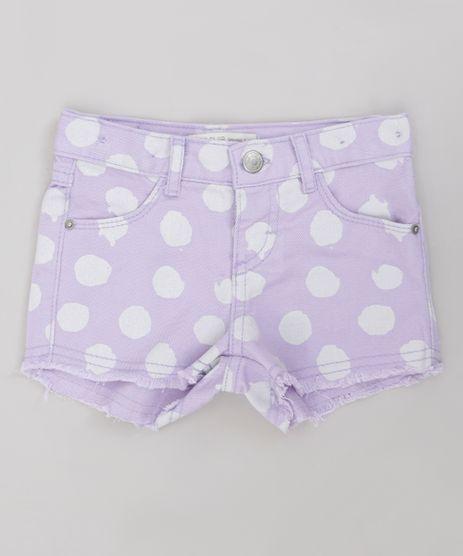 Short-Color-Infantil-Estampado-de-Poa-com-Barra-Desfiada-Lilas-9245809-Lilas_1