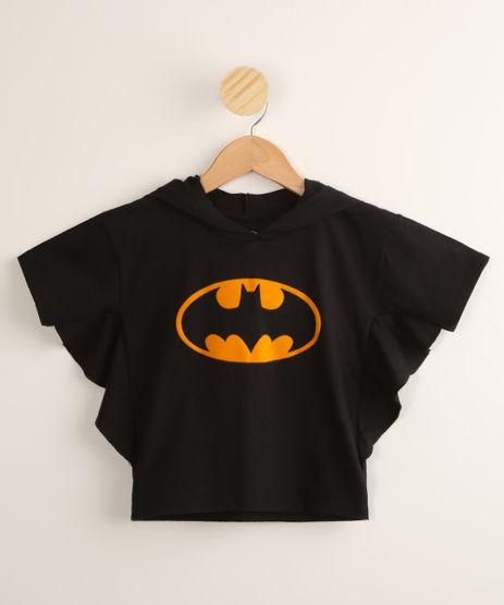 Camiseta-Infantil-Batman-com-Capuz-Manga-Morcego-Preto-9995346-Preto_1