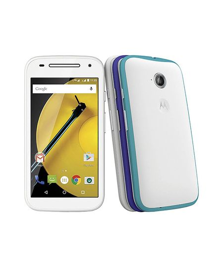 Motorola Moto E 2ª Geração XT1514 16GB Colors Dual Chip Android 5.0 Lollipop 4G Wi - Fi Quad - Core 16GB Tela 4.5 ´ e 2 Motorola Band - Branco - Único - COD. 2022369