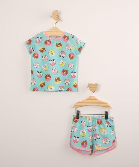 Pijama-Infantil-de-Algodao-Manga-Curta-Estampado-Donuts-Azul-9997916-Azul_1