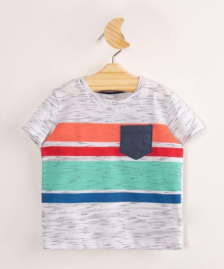 Camiseta-Infantil-de-Flame-com-Listras-e-Bolso-Manga-Curta-Off-White-9999104-Off_White_1