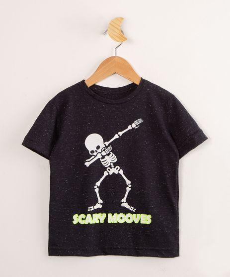 Camiseta-Infantil-Halloween-Caveira-Dancando-Manga-Curta--Preta-1001575-Preto_1