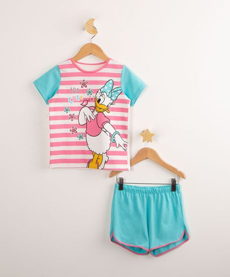 Pijama-de-Algodao-Infantil-Margarida-com-Listras-Manga-Curta-Off-White-1000765-Off_White_1