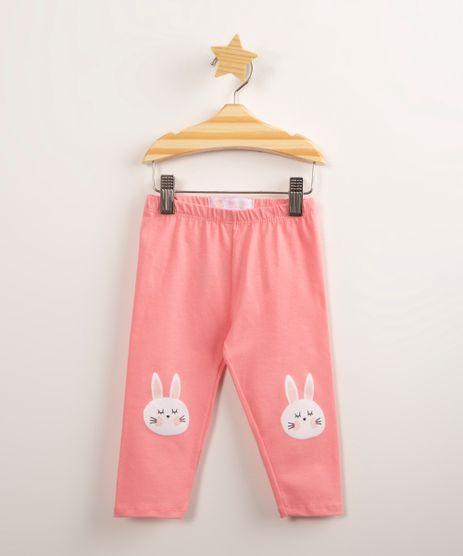 Calca-Legging-Infantil-com-Patch-Coelho-Rosa-1001155-Rosa_1