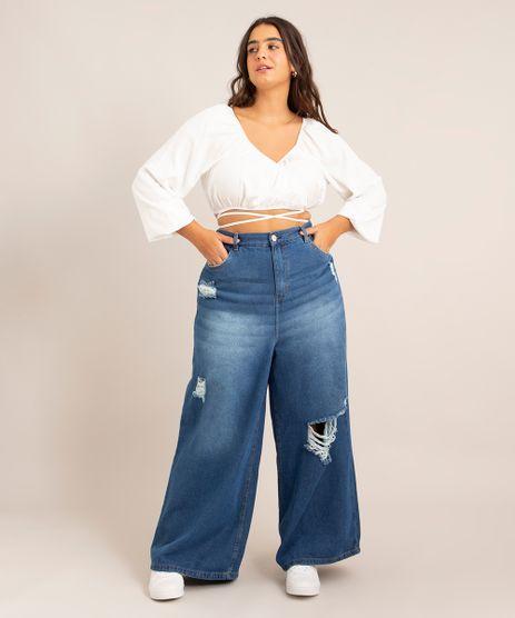 Calca-Jeans-Destroyed-Wide-Pantalona-Plus-Size-Cintura-Super-Alta-Azul-Medio-1007211-Azul_Medio_1