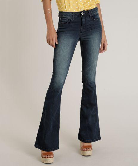 Calca-Jeans-Feminina-Flare-Azul-Escuro-9102247-Azul_Escuro_1