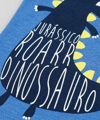 aee1be94b2c2e ... Camiseta-Infantil-Dinossauro-Manga-Curta-Gola-Careca-Azul- ...