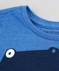 38e9608dd0137 ... Camiseta-Infantil-Dinossauro-Manga-Curta-Gola-Careca-Azul-
