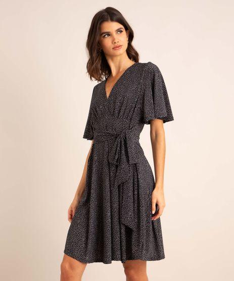 vestido-curto-estampado-de-poa-manga-curta-ampla-decote-v-preto-1008438-Preto_1