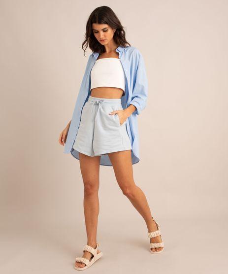 short-vintage-de-moletom-cintura-alta-com-recorte--azul-claro-9975493-Azul_Claro_1