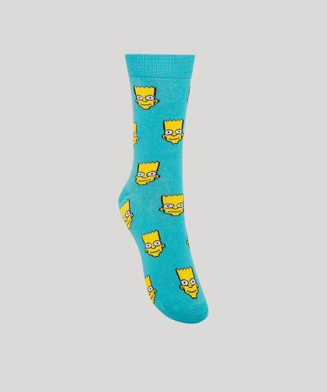 Meia-Infantil-Cano-Alto-Divertida-Bart-Simpson-Azul-1002486-Azul_1