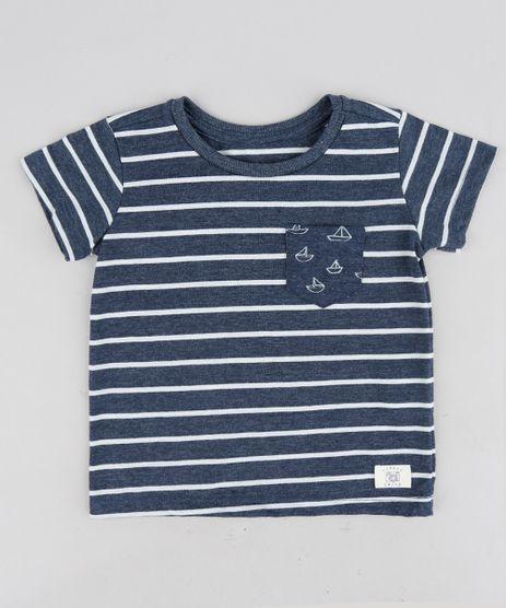 Camiseta-Infantil-Listrada-com-Bolso-Manga-Curta-Gola-Careca-Azul-Marinho-9224584-Azul_Marinho_1