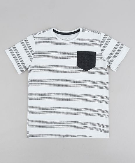 Camiseta-Infantil-Listrada-com-Bolso-Manga-Curta-Gola-Careca-Branca-9234029-Branco_1