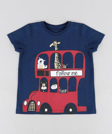 Camiseta-Infantil-Animais-Manga-Curta-Gola-Careca-Azul-Marinho-9303459-Azul_Marinho_1