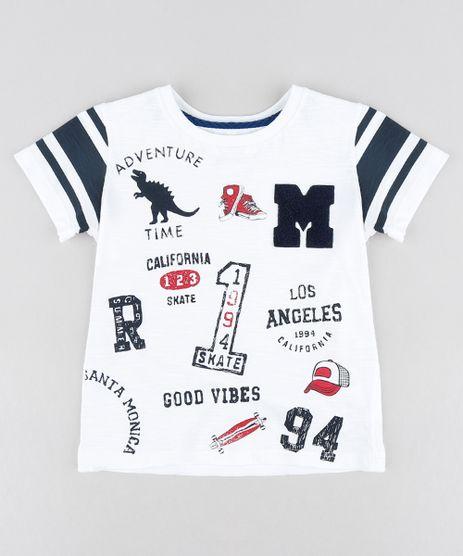 Camiseta-Infantil-Com-Estampas-Manga-Curta-Gola-Careca-Branca-9224657-Branco_1