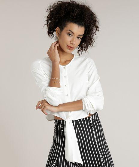 Camisa-Feminina-Cropped-com-No-Manga-Longa-Decote-Redondo-Off-White-9185663-Off_White_1