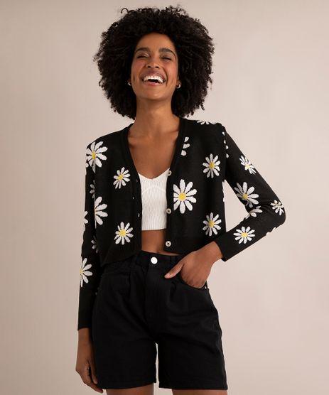 cardigan-cropped-trico-margaridas-decote-v-preto-9998520-Preto_1