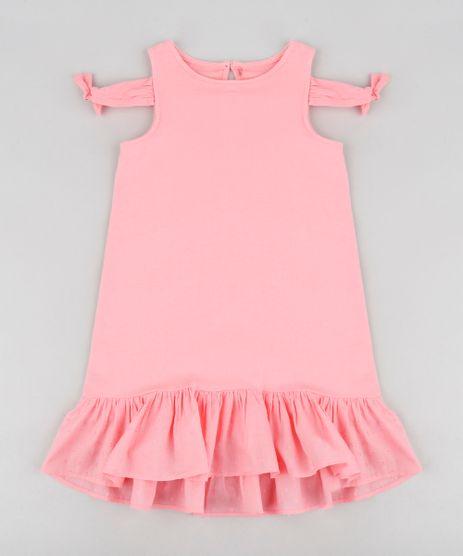 Vestido-Infantil-em-Moletom-com-No-e-Babado-Decote-Redondo-Rosa-9212907-Rosa_1