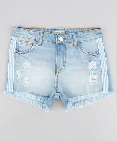 Short-Jeans-Infantil-Destroyed-Faixa-Lateral-Azul-Claro-9239555-Azul_Claro_1
