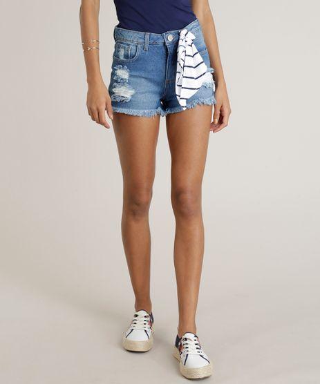 Short-Jeans-Feminino-Reto-Destroyed-com-Bandana-Azul-Medio-9299957-Azul_Medio_1