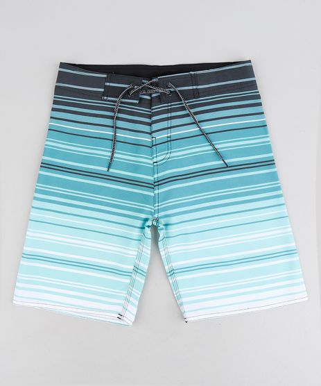 Bermuda-Surf-Infantil-com-Cordao-Listrada-Verde-9243388-Verde_1