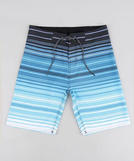 Bermuda-Surf-Infantil-com-Cordao-Listrada-Azul-9243386-Azul_1
