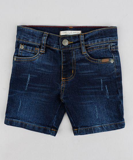 Bermuda-Jeans-Infantil-com-Puidos-Azul-Escuro-9241311-Azul_Escuro_1