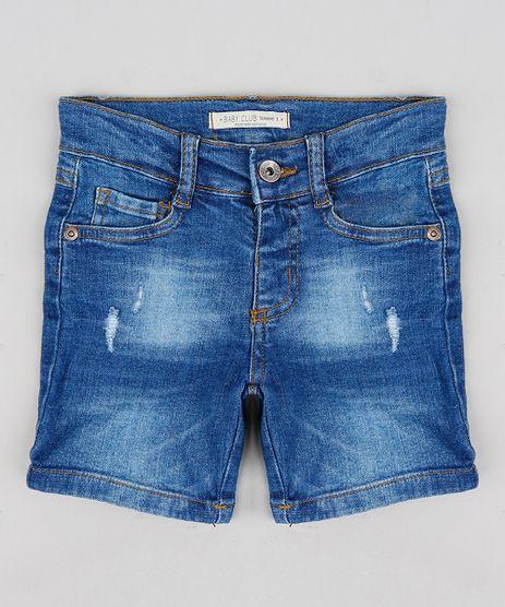 Bermuda-Jeans-Infantil-com-Puidos-Azul-Medio-9241304-Azul_Medio_1