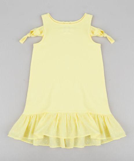 Vestido-Infantil-em-Moletom-com-No-e-Babado-Decote-Redondo-Amarelo-9212909-Amarelo_1