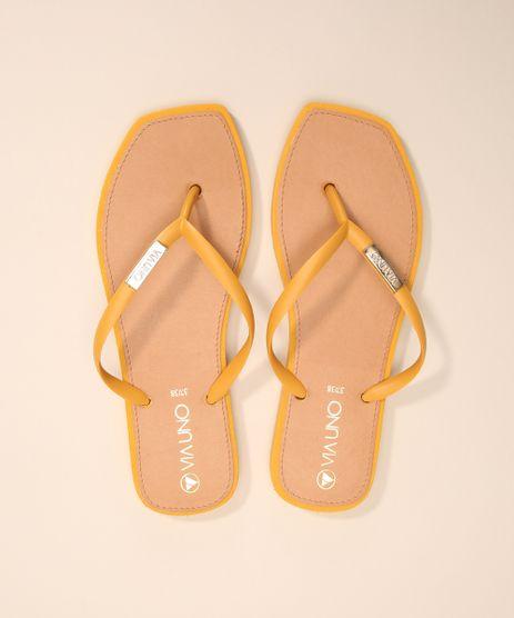 chinelo-feminino-bico-quadrado-via-uno-amarelo-9992026-Amarelo_1