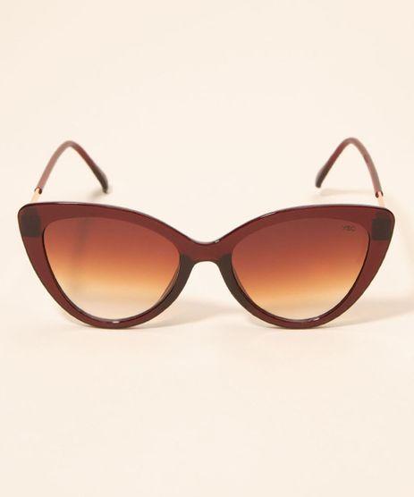 Oculos-de-Sol-Feminino-Gatinho-Yessica-Marrom-1008200-Marrom_1