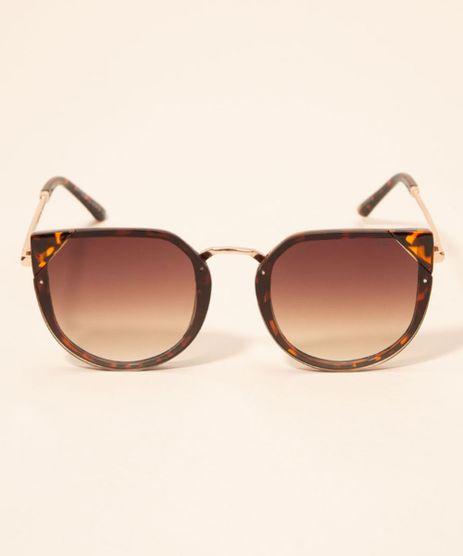 Oculos-de-Sol-Feminino-Gatinho-Yessica-Tartaruga-1008205-Tartaruga_1