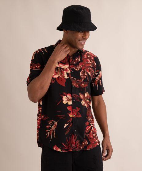 camisa-de-viscose-estampada-floral-manga-curta-preta-9990154-Preto_1