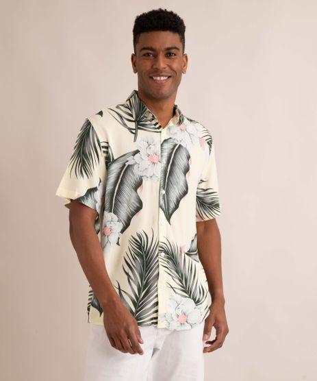 camisa-de-viscose-estampada-floral-manga-curta-amarelo-claro-1007869-Amarelo_Claro_1