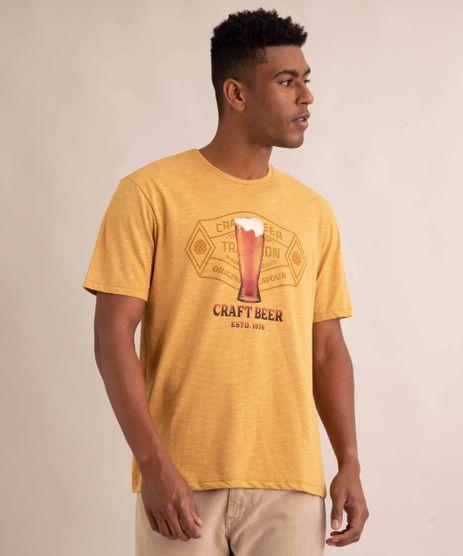 camiseta-de-flame--craft-beer--manga-curta-gola-careca-mostarda-1001376-Mostarda_1