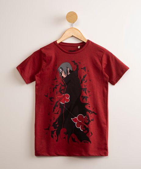 Camiseta-Juvenil-Itachi-Uchiha-Naruto-Manga-Curta-Vermelha-1001727-Vermelho_1
