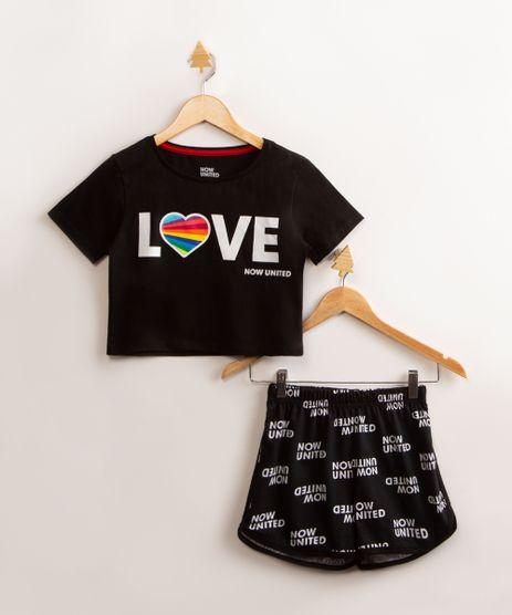 pijama-infantil-manga-curta-de-algodao-now-united-preto-9994965-Preto_1
