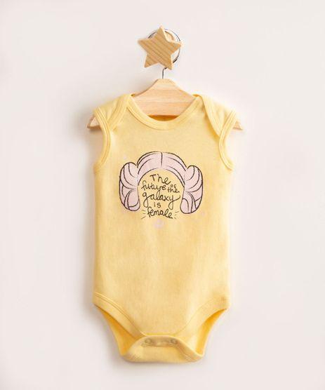 body-infantil-de-algodao-princesa-leia-star-wars-sem-manga-amarelo-9986057-Amarelo_1